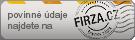 Firza.cz - firemní zápis